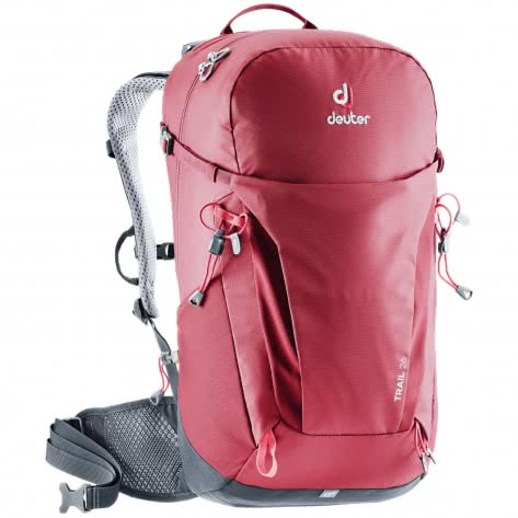 Deuter Rucksack Trail 26 3440319-5425 One Size cranberry-graphite | One Size