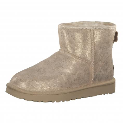 UGG Damen Boots Classic Mini II Stardust 1100700-MTG 42 Metallic Gold | 42