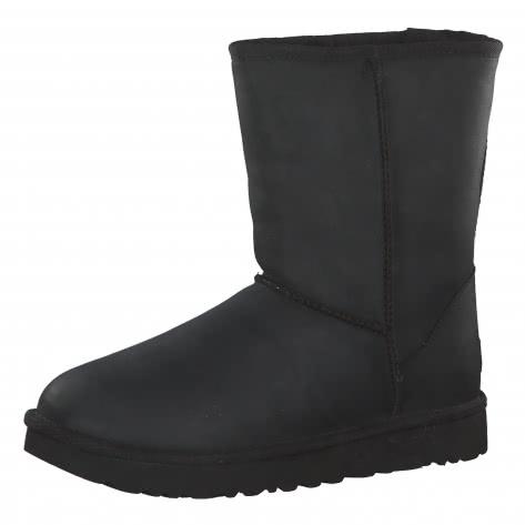 UGG Damen Boots Classic Short Leather 1016559-BLK 37 Black | 37