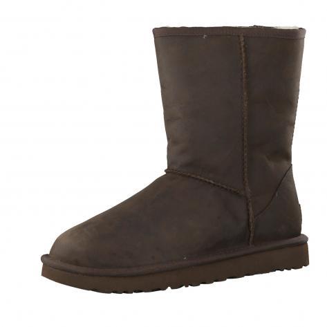 UGG Damen Boots Classic Short Leather 1016559
