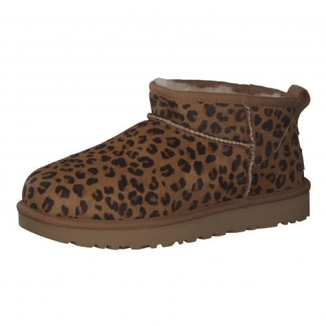 UGG Damen Boots Classic Ultra Mini Leopard 1117533-NAT 40 Natural | 40