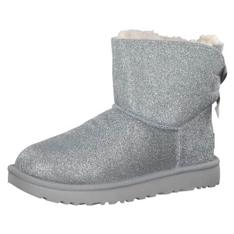 UGG Damen Boots Mini Bailey Bow Sparkle Classic 1100053
