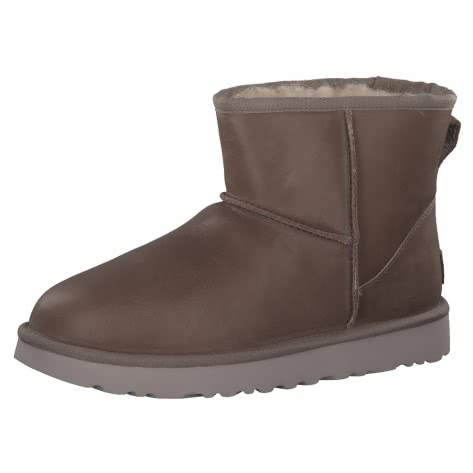 UGG Damen Boots Classic Mini Leather 1006595-FEA 41 Feather | 41