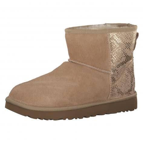 UGG Damen Boots Classic Mini Metallic Snake 1101472