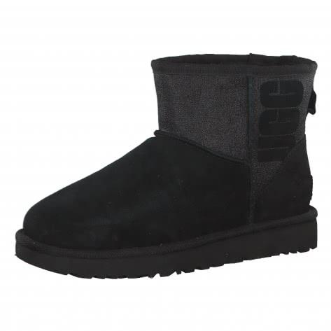 UGG Damen Boots Classic Mini Logo Sparkle 1098452-BLK 41 Black | 41