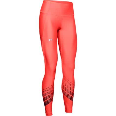 Under Armour Damen Tight UA Heat Gear Armour Legging Ombre 1349108-632 XS Beta Red/Black/Metallic Silver | XS