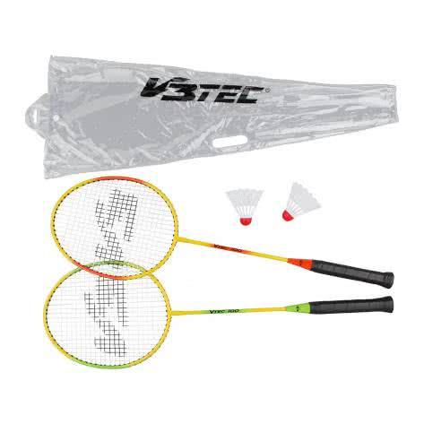V3TEC Badminton Set 100 125241-9999 Gelb/Grün/Orange | One size