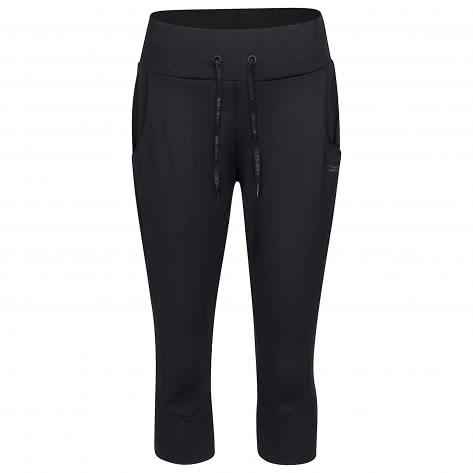 Venice Beach Damen Trainingshose Karli Curvy Fit 5/6 Pants 41007-990 44 black | 44