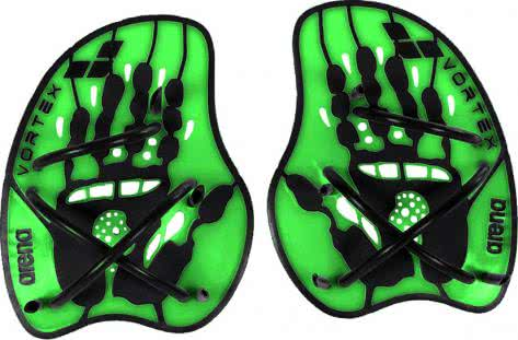 Arena Handpaddel Vortex Evolution 95232-65 M Acid Lime, Black | M