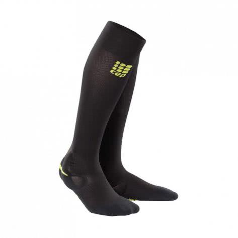 CEP Damen Laufsocken Ortho Ankle Support Socks WO4AL1 25-31 black/green | 25-31cm