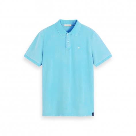 Scotch & Soda Herren Poloshirt Garmend -Dyed Pique Polo 155461