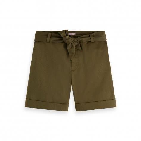 Maison Scotch Damen Short Longer Length Chino Shorts 156421