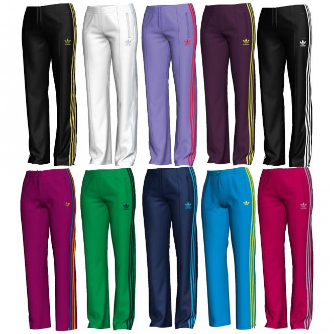 Adidas-Damen-Firebird-TP-Trainingshose-Jogginghose-2759-Original