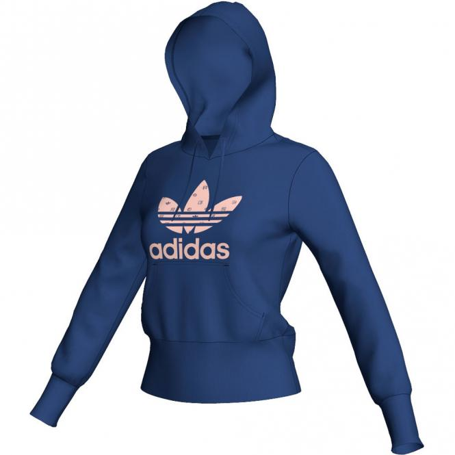 adidas damen trefoil hoodie sweatshirt 2530 mit kapuze ebay. Black Bedroom Furniture Sets. Home Design Ideas