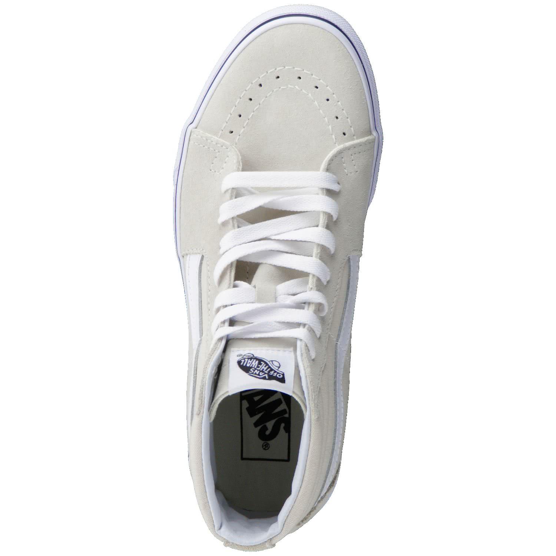 vans damen sneaker sk8 hi va38geoue 36 birch true white 36. Black Bedroom Furniture Sets. Home Design Ideas