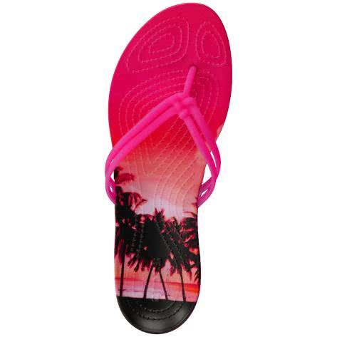 Crocs Damen Schuhe Isabella Graphic Flip W 204196