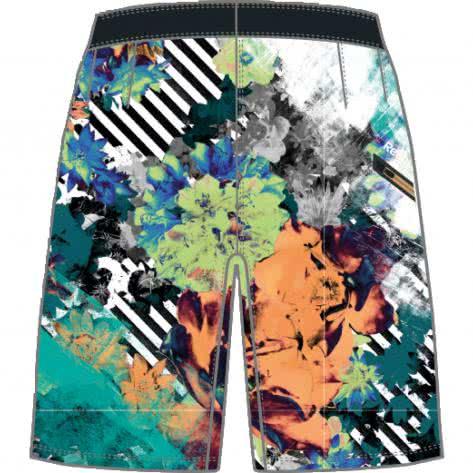 Reebok CrossFit Herren Boardshort Super Nasty Floral