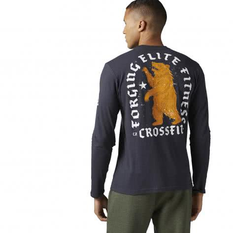 Reebok CrossFit Herren Langarmshirt Bear