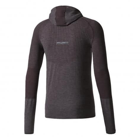 adidas Herren Laufshirt Climaheat Primeknit Hooded LS