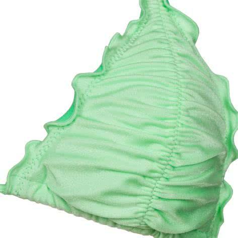 Seafolly Bikinioberteil Shimmer Slide-Tri w/Lettuce Edge 30029-281