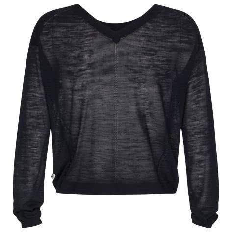 Maison Scotch Damen Pullover Lightweight linen 137201