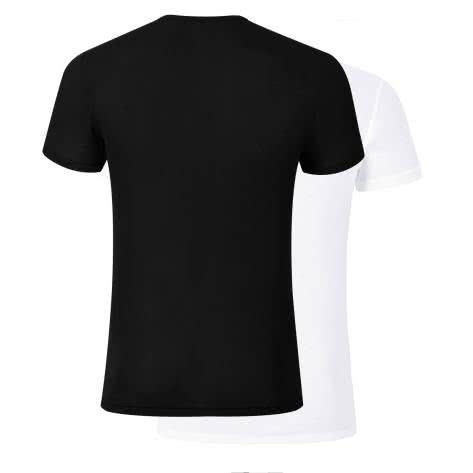 Odlo Herren T-Shirt Crew Neck Light 2 Pack 192312