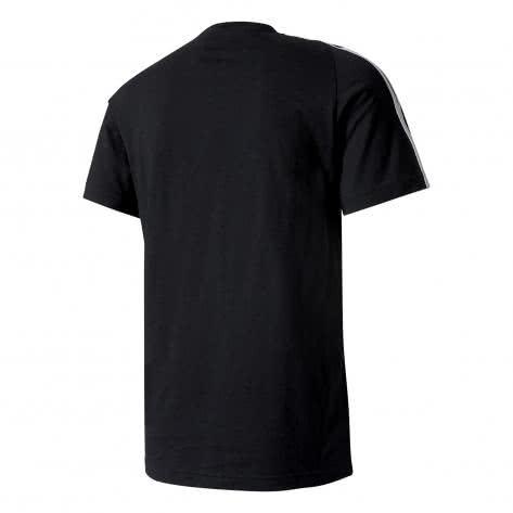 adidas Herren T-Shirt Essentials 3 Stripes Tee