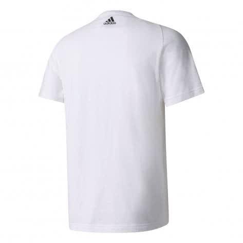 adidas Herren T-Shirt Essentials Linear Tee