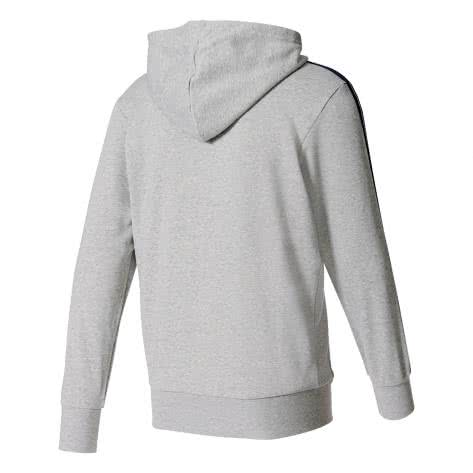 adidas Herren Hoodie Essentials 3 Stripes Full-Zip