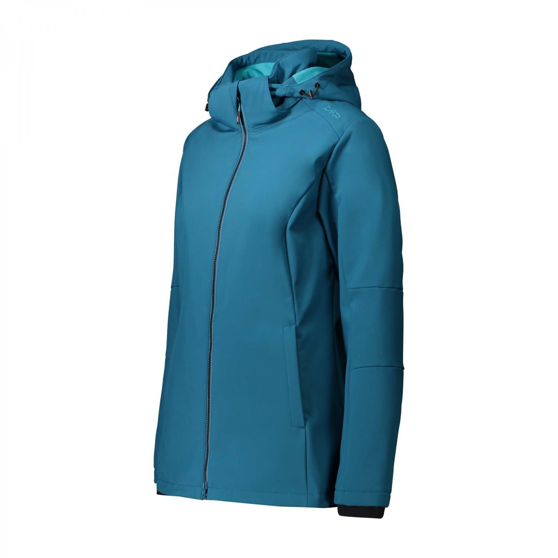 cmp damen softshell jacke zip hood 3a22226