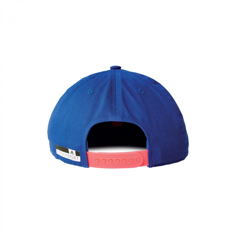 3b9adb00302 adidas Kappe Cap Embroidered StellaSport AX8711 OSFW bold blue flash red  s15