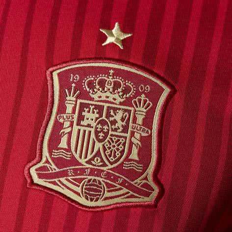 adidas Herren Spanien FEF Home Trikot