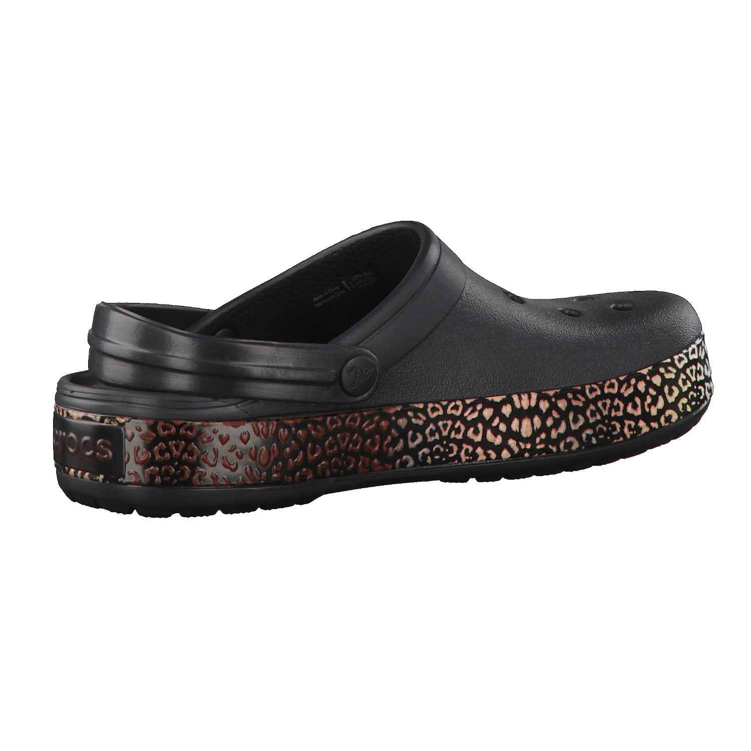 crocs damen schuhe crocband leopard iii clog 204649. Black Bedroom Furniture Sets. Home Design Ideas