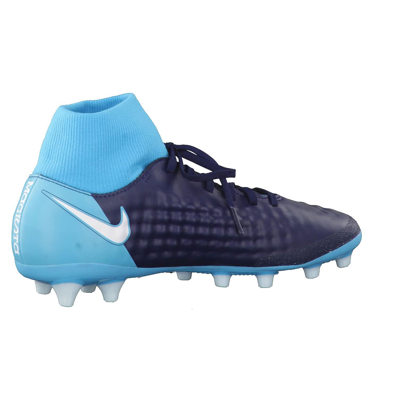brand new 6fcff 19f42 Nike Herren Fussballschuhe Magista Onda II DF AG-Pro 917786-414 40  Obsidian/White-Gamma Blue-Glacier Blue | 40