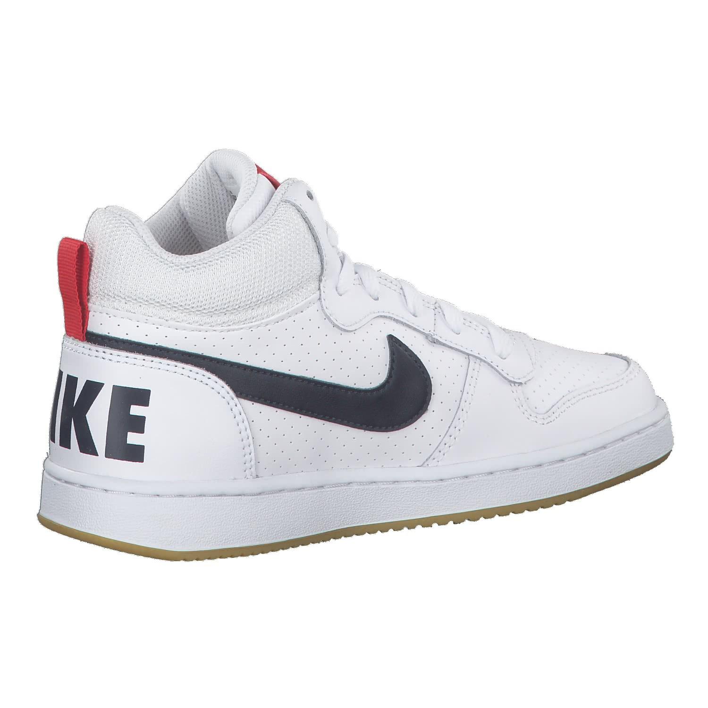 Nike DamenKinder Sneaker Court Borough Mid WhiteWhite White