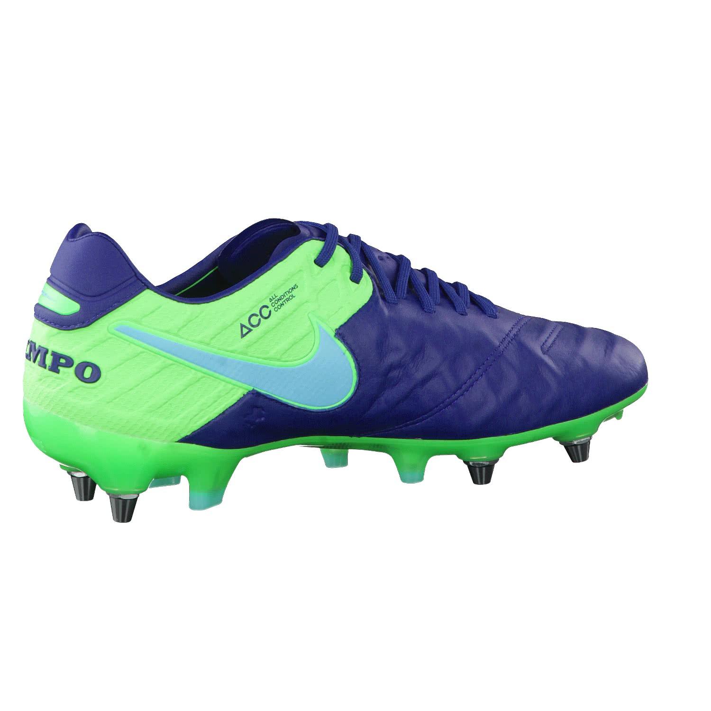 the latest 3c3ce bd325 Nike Herren Fussballschuhe Tiempo Legend VI SG-Pro 819680-443 42.5 Coastal  Blue/Polarized Blue-Rage Green | 42.5 | cortexpower.de