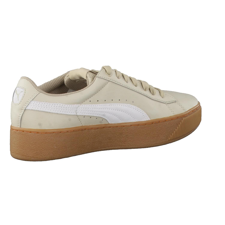 puma damen vikky platform l sneakers