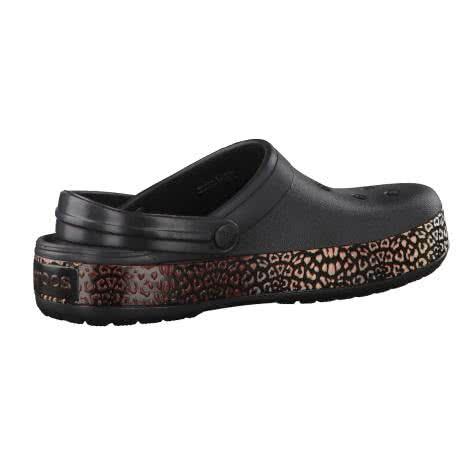 Crocs Damen Schuhe Crocband Leopard III Clog 204649