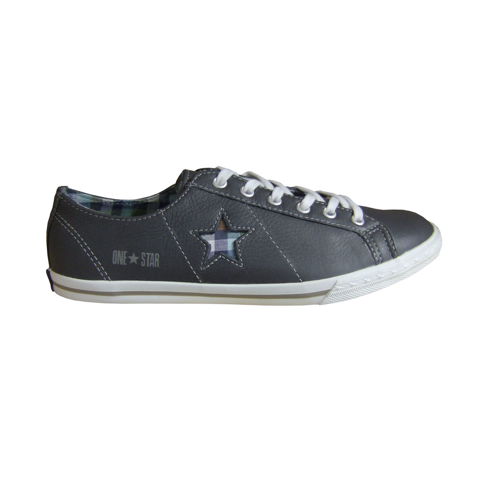 Converse One Star Pro Low Ox Leder 121614:Dklgrau 35.5