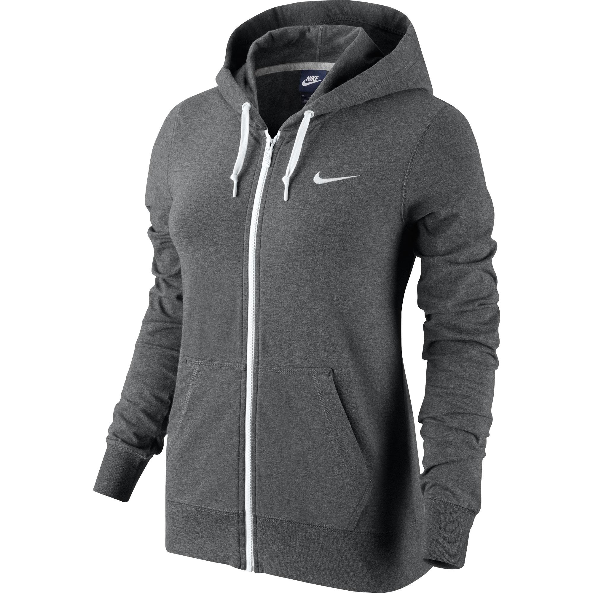 Nike Damen Sweatjacke Jersey FZ Hoody 614829-071 L