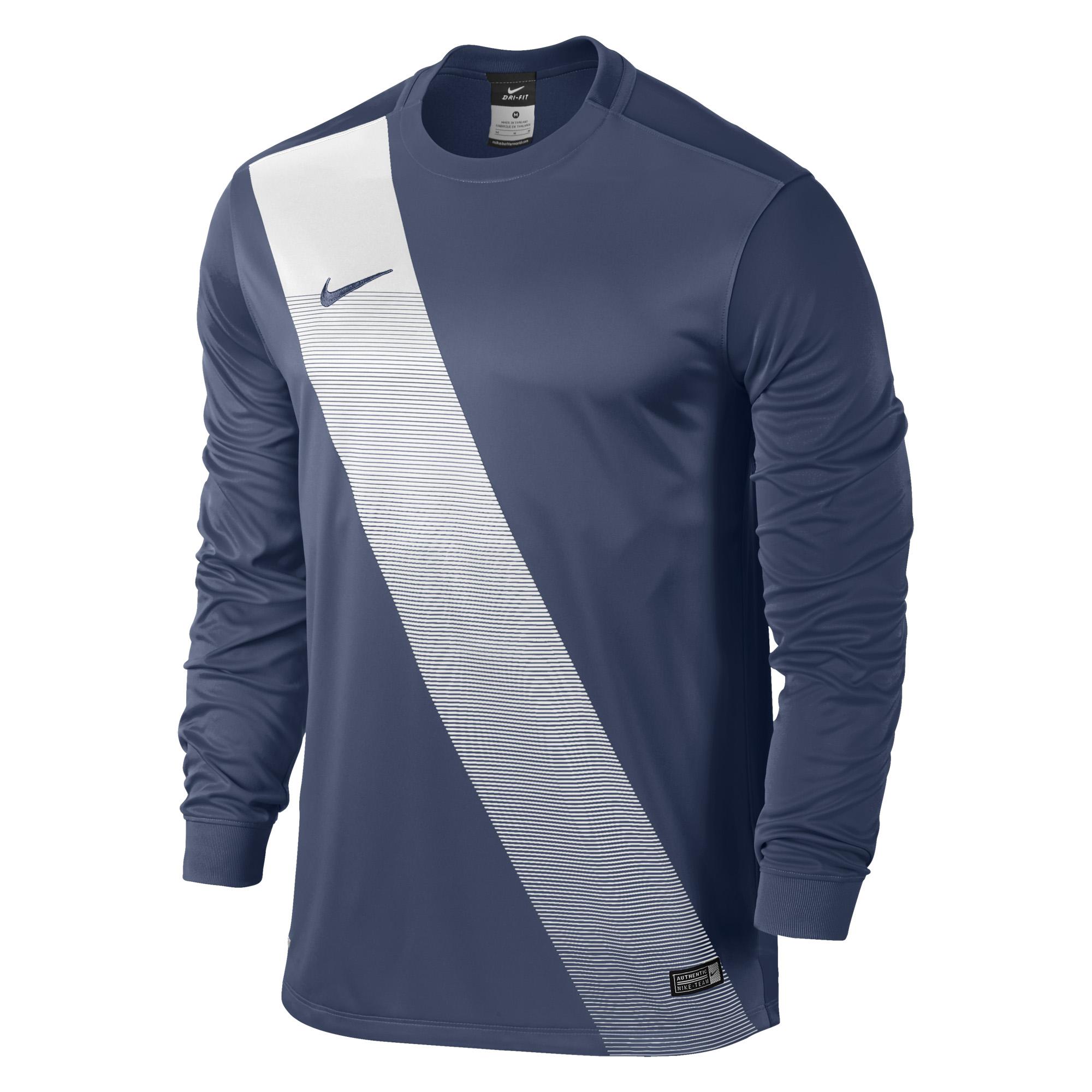 Nike Herren Langarm Trikot Sash 645493-410 S