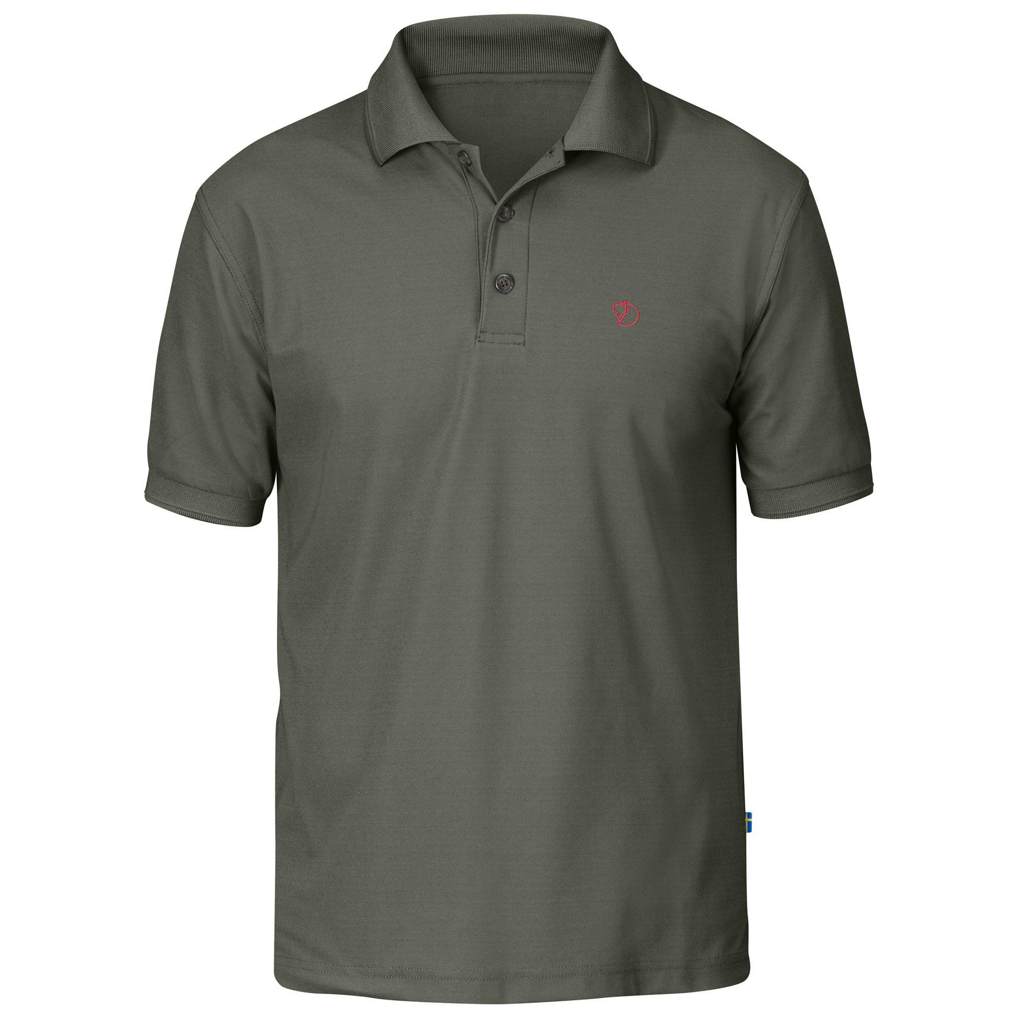 Fjällräven Crowley Pique Polo Shirt Men - Funktionsshirt - mountain grey 032 - Gr.M