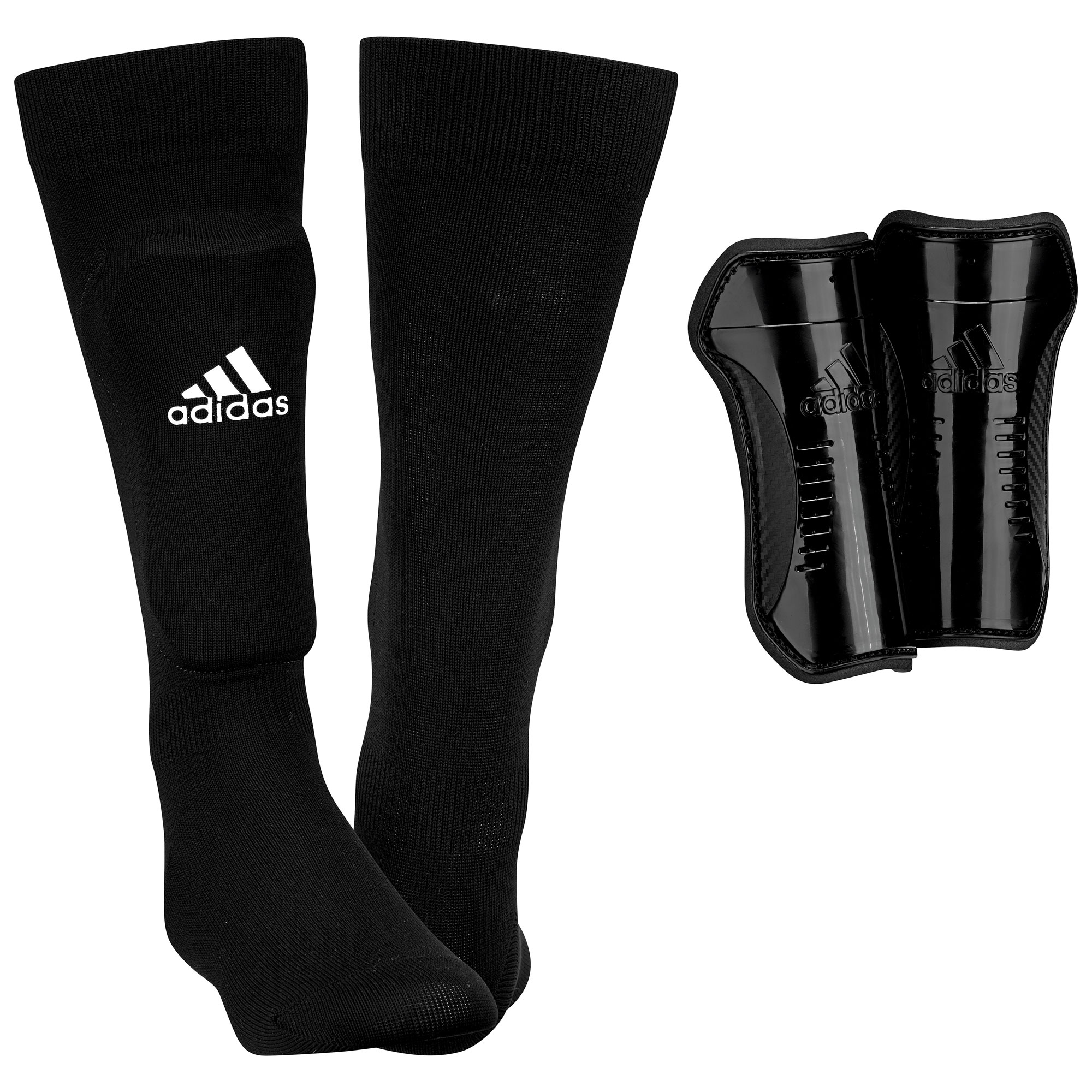 adidas Kinder Schienbeinschoner Youth Sock Guard AH7764 M