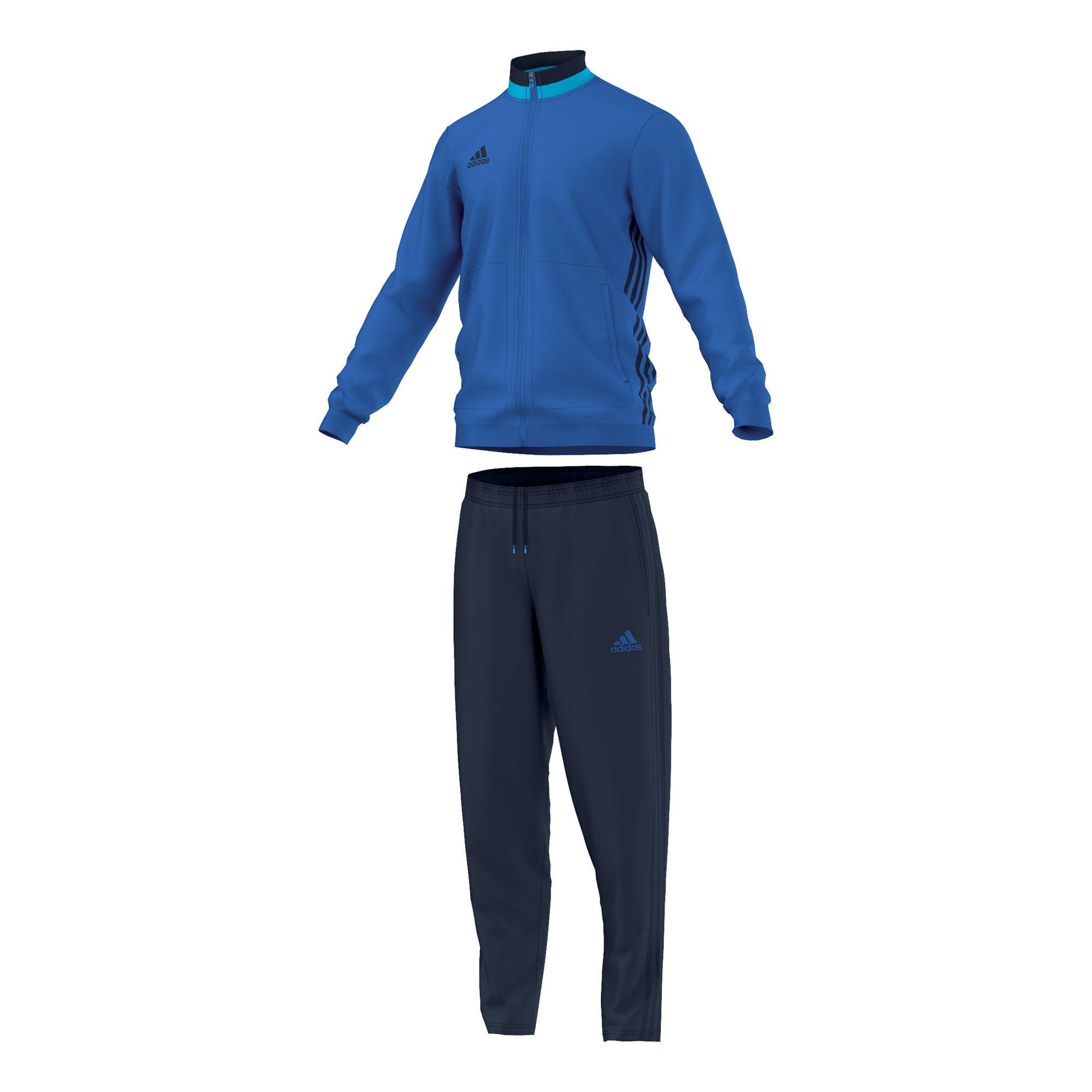 adidas Herren Polyesteranzug Trainingsanzug Condivo 16 AX6543 XXL