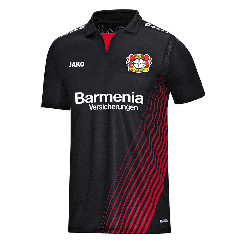 Jako Herren Bayer 04 Leverkusen Heim Trikot 201...
