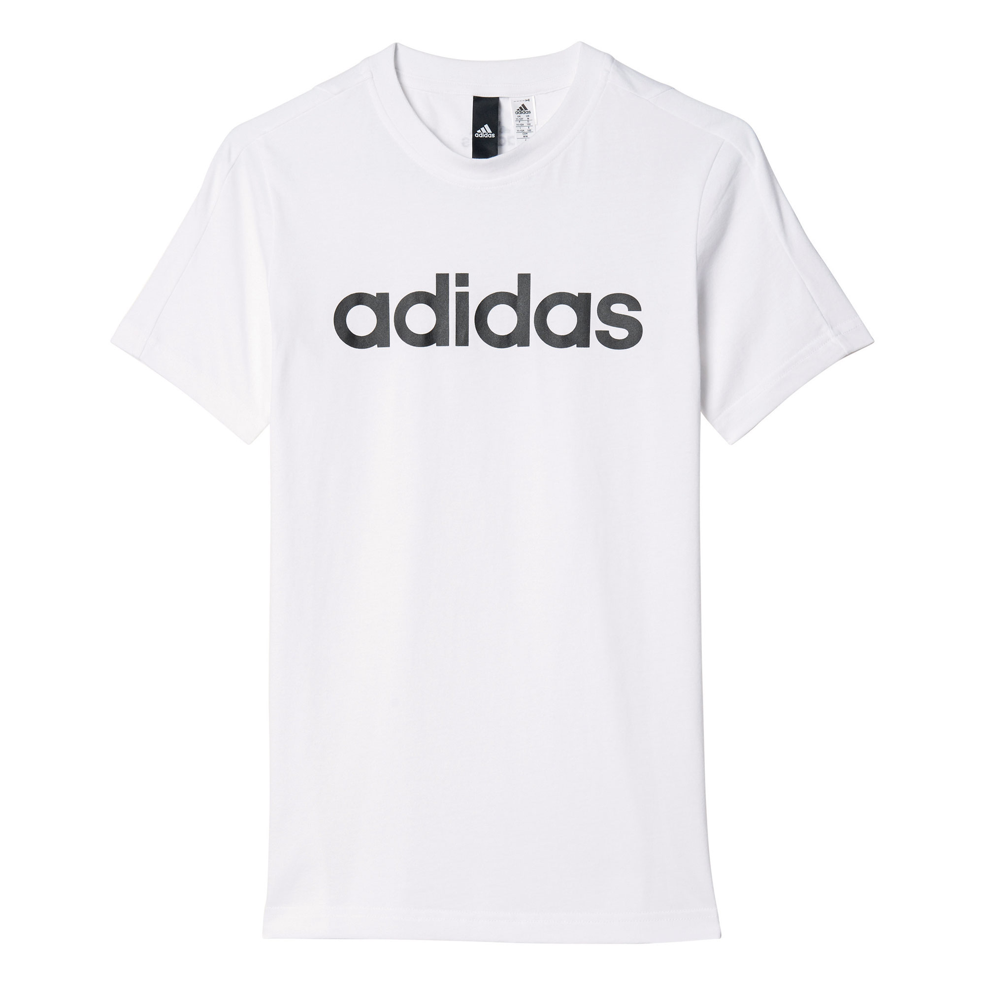 adidas Jungen T-Shirt Essentials Linear BK3475 110