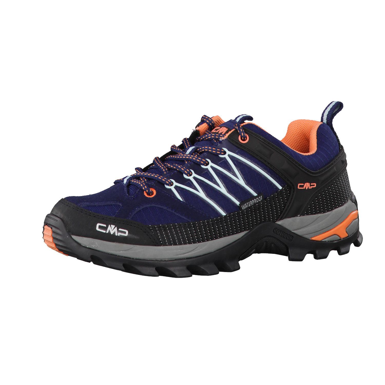 Trekkingschuhe CMP - Rigel Low Wmn Trekking Shoes Wp 3Q54456 B.Blue/Giada/Peach 92AD Ip1YTj