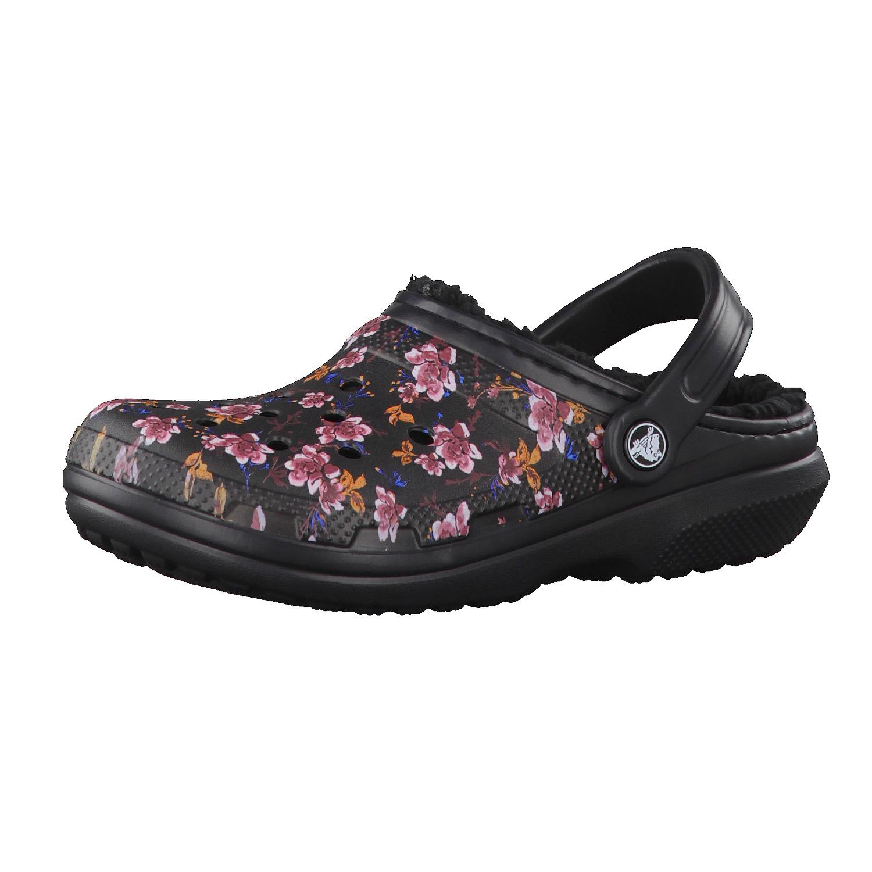 Crocs Schuhe Classic Lined Graphic Clog 203592-...