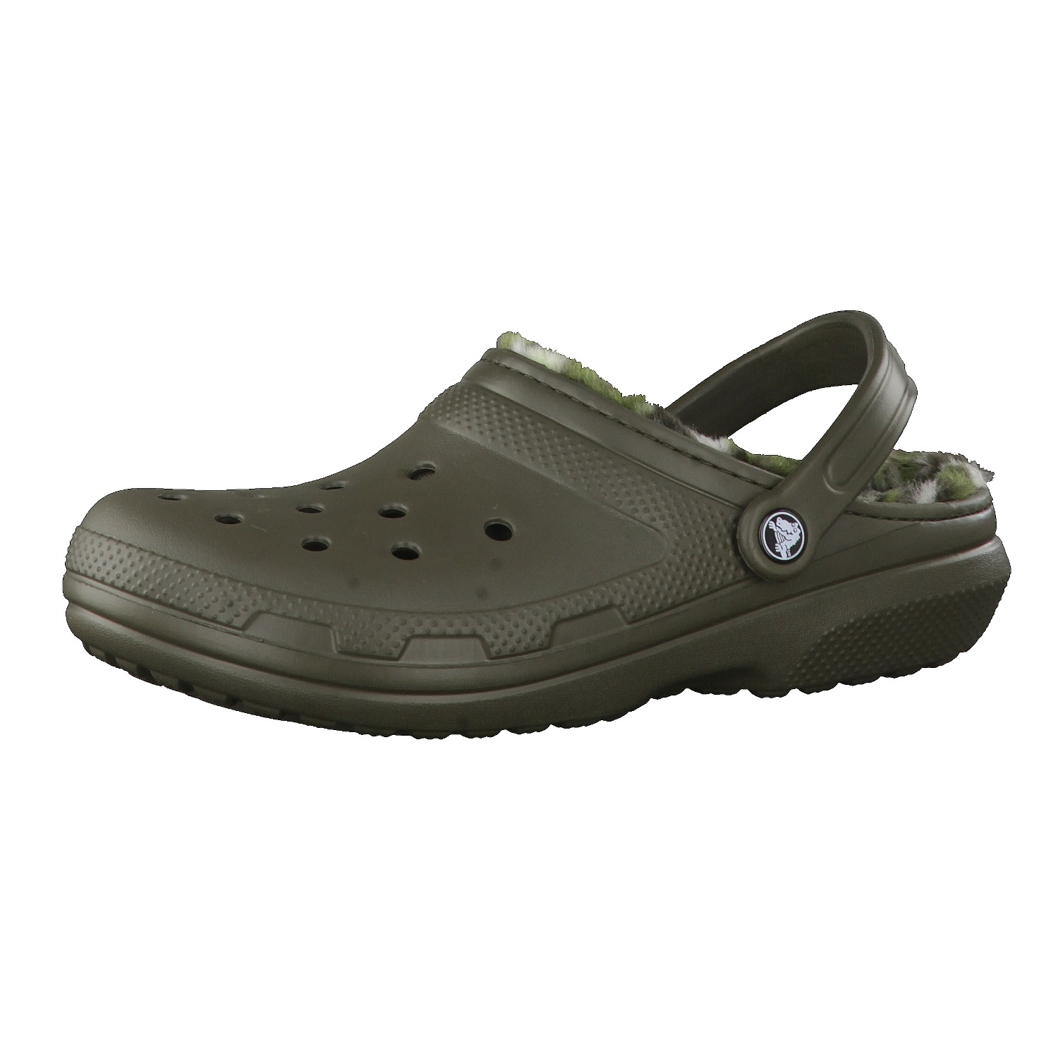Crocs Schuhe Classic Lined Graphic Clog 203592-...