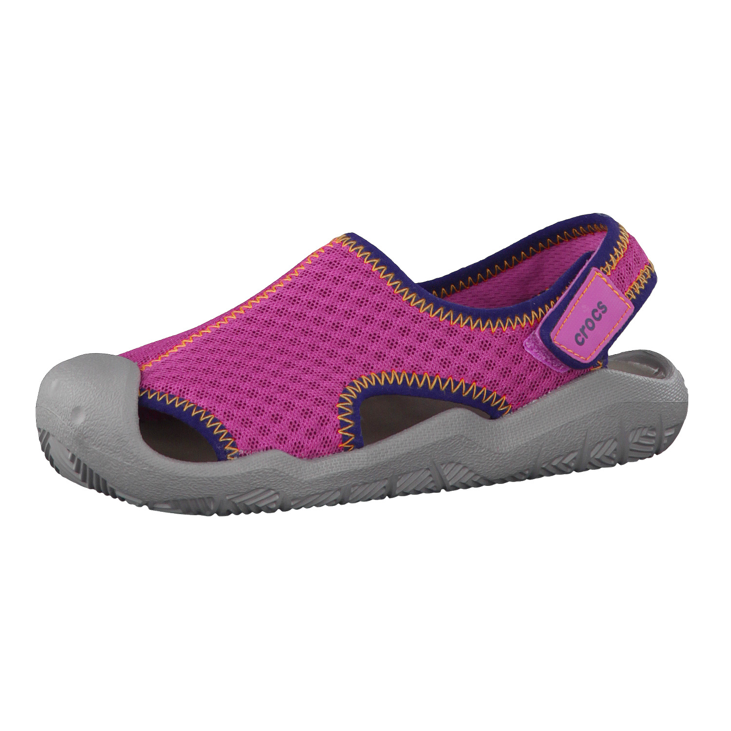 Crocs »Swiftwater K 204024-6KF« Sandale, grau, grey